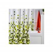 Cortina de baño Teflón Estampada Deluxe GREEN