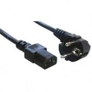 MCL CORDON SECTEUR IEC (C13) / 2 P T COUDE - 2 M MC901-2M