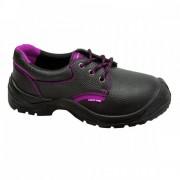 PANTOF PIELE CU INTERIOR NUANTAT (O1SRC) - 41