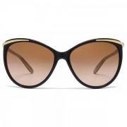Ralph Lauren Ralph By Ralph Lauren Cateye Sunglasses In Black Nude Brown Gradien...