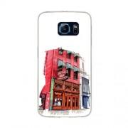 Husa Samsung Galaxy S6 Edge G925 Slim Model Old Town Bar