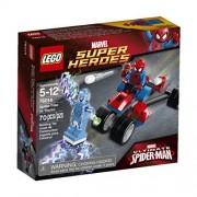 Lego- Spiderman Trike vs. Electro
