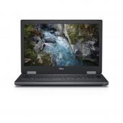 """Precision 7530 Noir Station de travail mobile 39,6 cm (15.6"""") 1920 x 1080 pixels Intel® Core™ i7 de 8e génération i7-8850H 16 Go"""