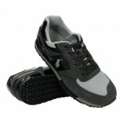 "Polo Ralph Lauren Slaton Pony Sneakers Athletic Shoe ""Black Charcoal"""