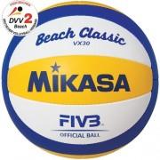 mikasa Beachvolleyball BEACH CLASSIC VX30 - blau/gelb/weiß | 5