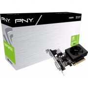 Paca video pny technologies GeForce GT 730 2GB DDR3 (64 bit) D-Sub, DVI-D, HDMI, BOX (GF730GTLP2GEPB)