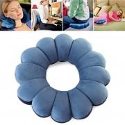 V&V Multifunkční polštář Total Pillow (modrá barva)