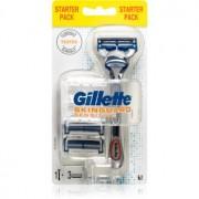Gillette Skinguard Sensitive maquinilla de afeitar para pieles sensibles + recambios de cuchillas 3 uds