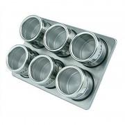 Solnite magnetice pentru condimente Grunberg GR329, 6 piese