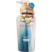 Shiseido «Tsubaki» Разглаживающий шампунь для волос, с маслом семян камелии и маточным молочком, 450 мл.
