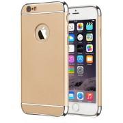 BackCover 3 in 1 voor Apple iPhone 7 Plus Goud/Zilver