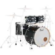 Pearl MCT924XEFP Masters Maple 4-delige shellset Caviar Black