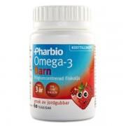 Pharbio Omega-3 Barn 60 kaps