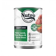 Nutro Adult Hearty Stews Meaty Lamb & Rice Stew Chunks In Gravy Canned Dog Food, 12.5-oz, case of 12
