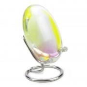 Pebbles knuffel urn Hart: geel/wit — Ja