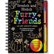 Furry Friends: An Art Activity Book for Animal Lovers and Artists of All Ages [With Wooden Stylus for Drawing], Hardcover