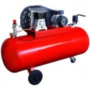 Compressore aria professionale 270 lt / 380v / 2 cilindri / trasmissione cinghia / hp.4