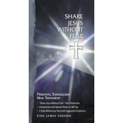 Share Jesus Without Fear New Testament-KJV, Hardcover