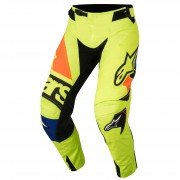 Alpinestars Pantaloni Moto Cross 2018 Techstar Factory Yellow Fluo Blue Black Orange Fluo