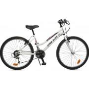 "Bicicleta MTB Good Bike Oklahoma, Cadru 24"" (Alb/Roz)"