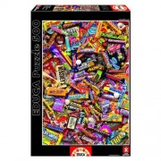 Educa Csokoládék puzzle, 500 darabos