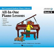 All-In-One Piano Lessons, Book B 'With CD (Audio)', Paperback/Fred Kern
