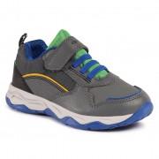 Geox Sneakers GEOX - J Calco B. A J04CLA 0FEFU C0655 M Dk Grey/Green