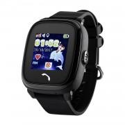 Ceas inteligent pentru copii WONLEX GW400S Negru cu GPS, rezistent la apa, localizare WiFi si monitorizare spion,