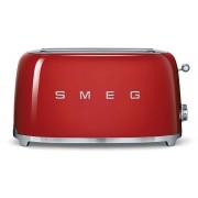 SMEG Tostapane 4 Fette Rosso Estetica Anni '50