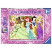Ravensburger Le Principesse Disney Puzzle 200 pezzi (12745)