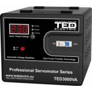 Stabilizator retea maxim 3000VA-SVC cu servomotor TED Electric