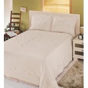 Cuvertură de pat dublu Valentini Bianco YT034 Ecru