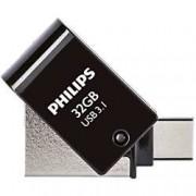 Philips USB 3.1 Flash Drive 2-in-1 32 GB Silver