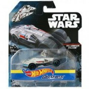 Masinuta Millennium Falcon 1/64 Hot Wheels Star Wars Carships