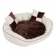 Cama em Pele Sintética para Cães - C 100 x L 80 x A 28 cm