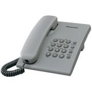 Žični telefon Panasonic KX-TS500FXH, siva