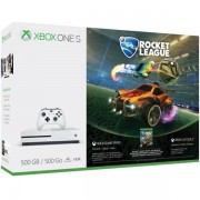 Microsoft Xbone One S 500 Gb + Rocket League Console Games Colore Bianco