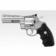 Marui Colt Python .357 Magnum inoxidable 4 pulgadas blanco de plata