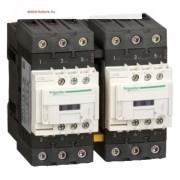 Schneider Electric, Forgásirányváltó magneskapcsoló, 22kW/50A (400V, AC3), 440V AC 50/60 Hz vezerlés, 1Z+1Ny, csavaros csatlakozás, TeSys D Everlink Everlink (Schneider LC2D50AR7)
