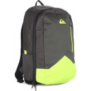 Quiksilver New Wave Plus M Backpack(Grey, Yellow)