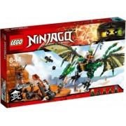 LEGO NINJAGO Dragonul verde 70593