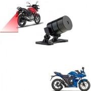 Auto Addict Bike Styling Led Laser Safety Warning Lights Fog Lamp Brake Lamp Running Tail Light-12V For Suzuki Gixxer Sf