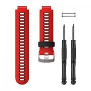 Garmin 010-11251-0N accessorio per smartwatch Band Nero, Rosso