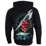 sweat-shirt avec capuche pour hommes Metallica - Hardwired Album Cover - NNM - RTMTLZHBHAR