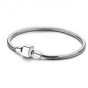 Infinity Love Stříbrný náramek na korálky a přívěsky HC-186 18 cm