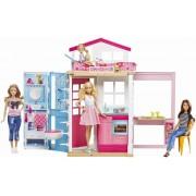 Set de joaca Casa Barbie cu mobilier si accesorii
