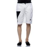 Demokrazy Men's White Shorts