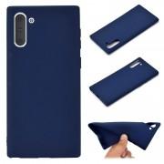 Capa em Silicone para Samsung Galaxy Note 10 - Flexível - Azul Escuro