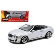 1:18 DIAMOND - BENTLEY CONTINENTAL SUPERSPORTS CONVERTIBLE 18-11035MJSIL BY BBURAGO