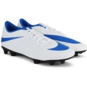 Nike NIKE BRAVATA II FG Football Shoes For Men(White, Blue)
